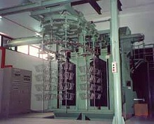 Shot blast machine and maintenance